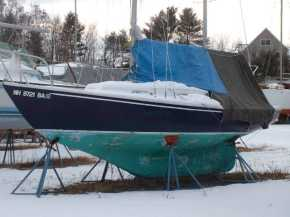 Linnet's Wings - Pictures of 23' South Coast Seacraft Alberg